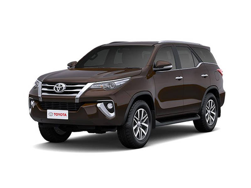Rent a Fortuner in Islamabad